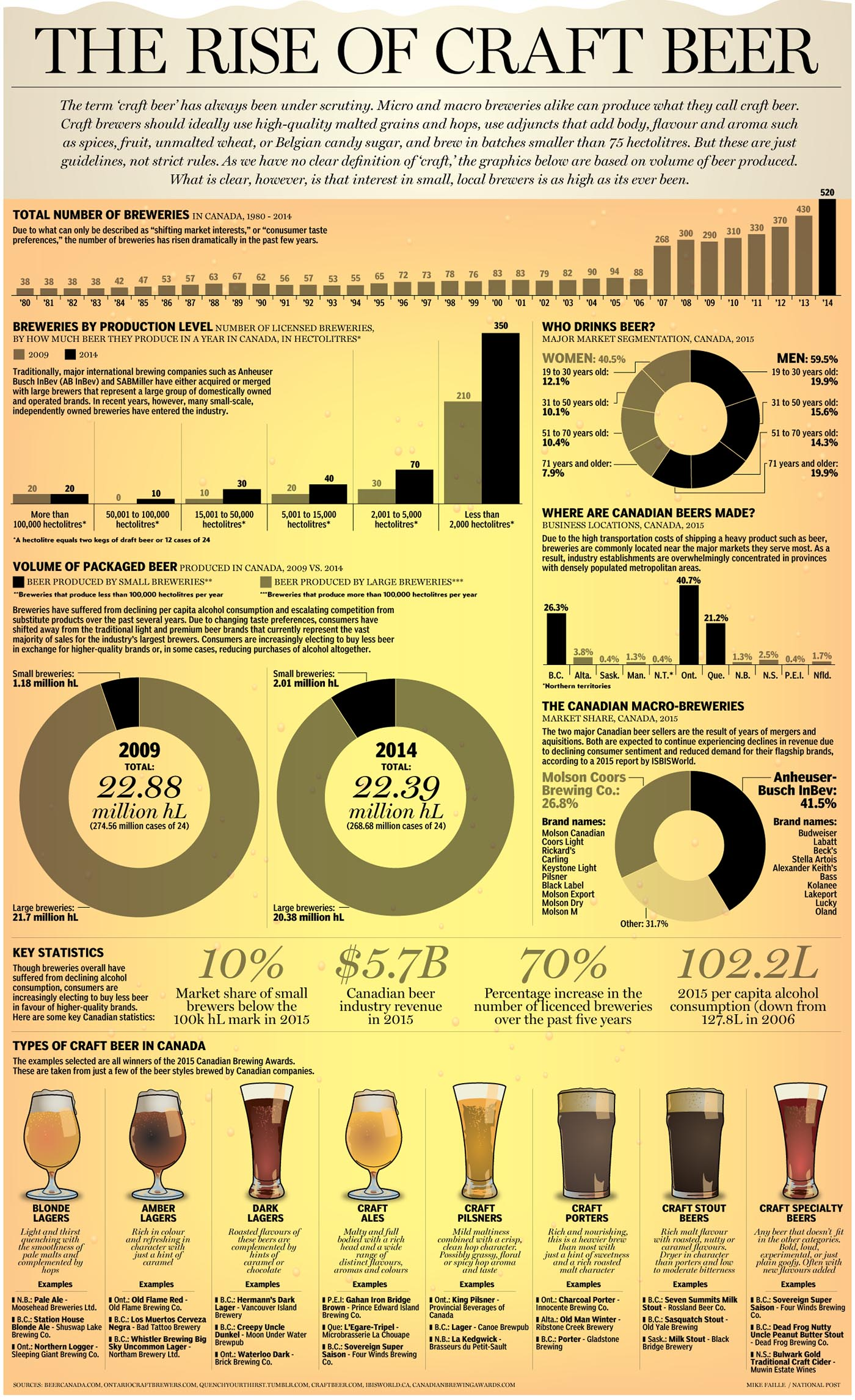 craft beer statistics